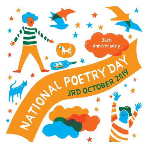National Poetry Day poster