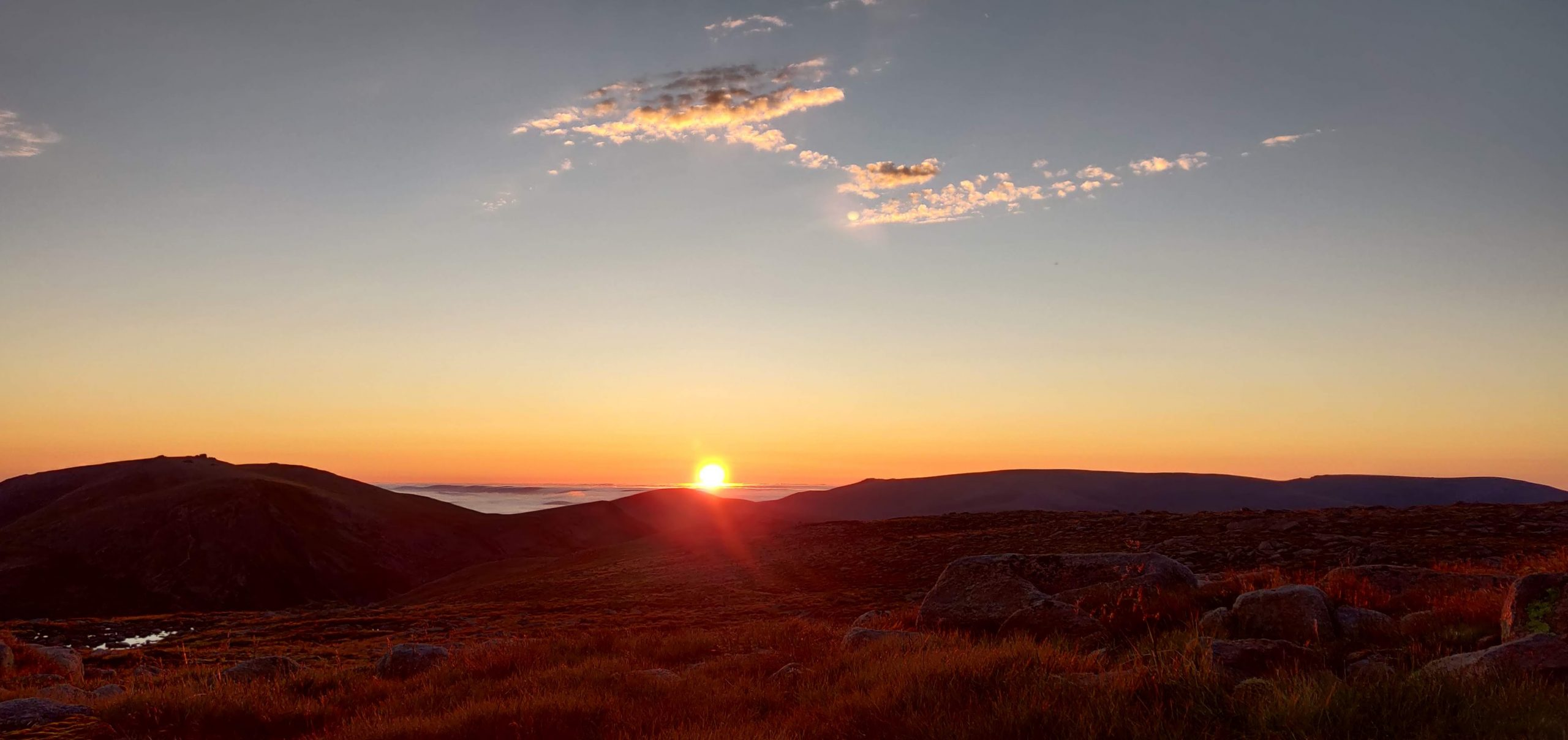 Sunrise from the Cairngorms
